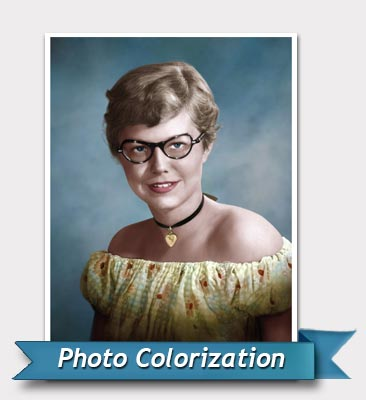 Photo colorize after