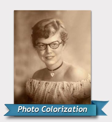 Photo colorize before