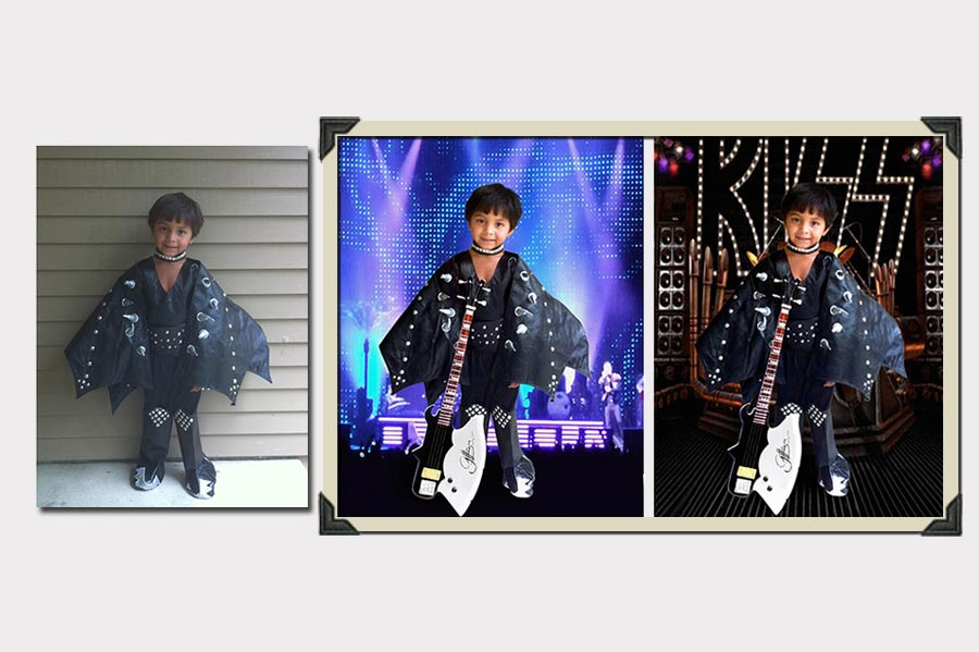 Phojoe Little Rocker Boy Photo Manipulation