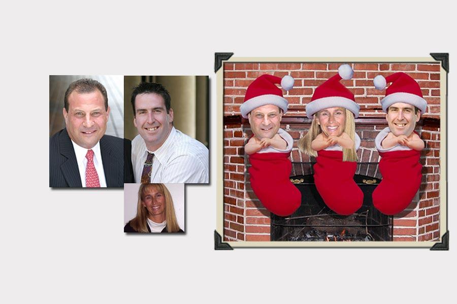 Phojoe Three People Christmas Edition Photo Manipuation