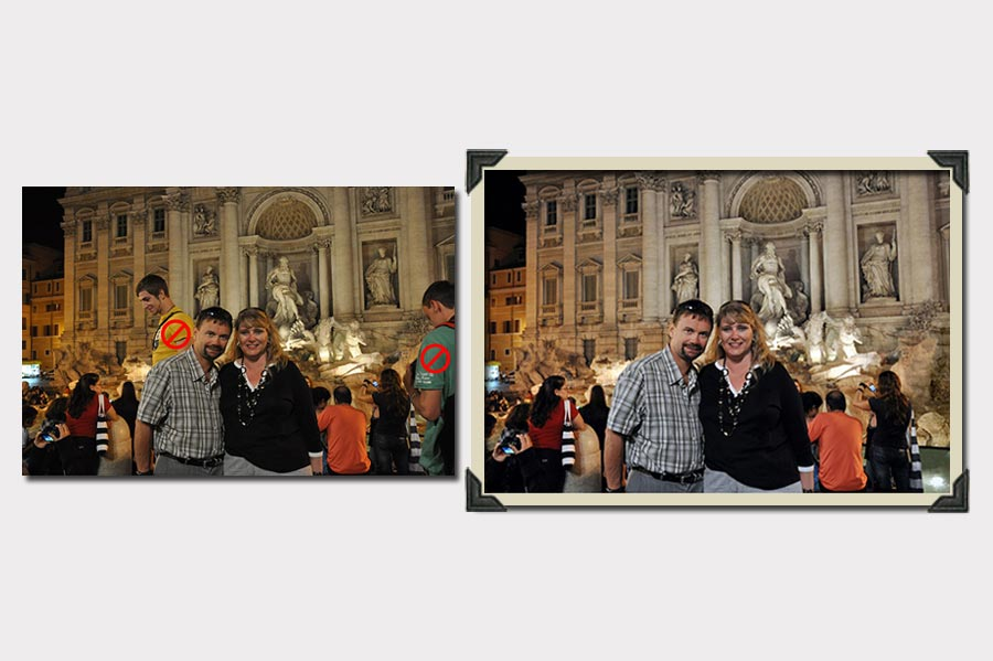 Phojoe Photo Manipulation Edit Out a Person