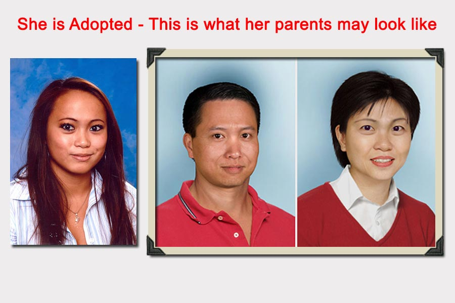 Phojoe Parent Prediction of an Adopted Girl