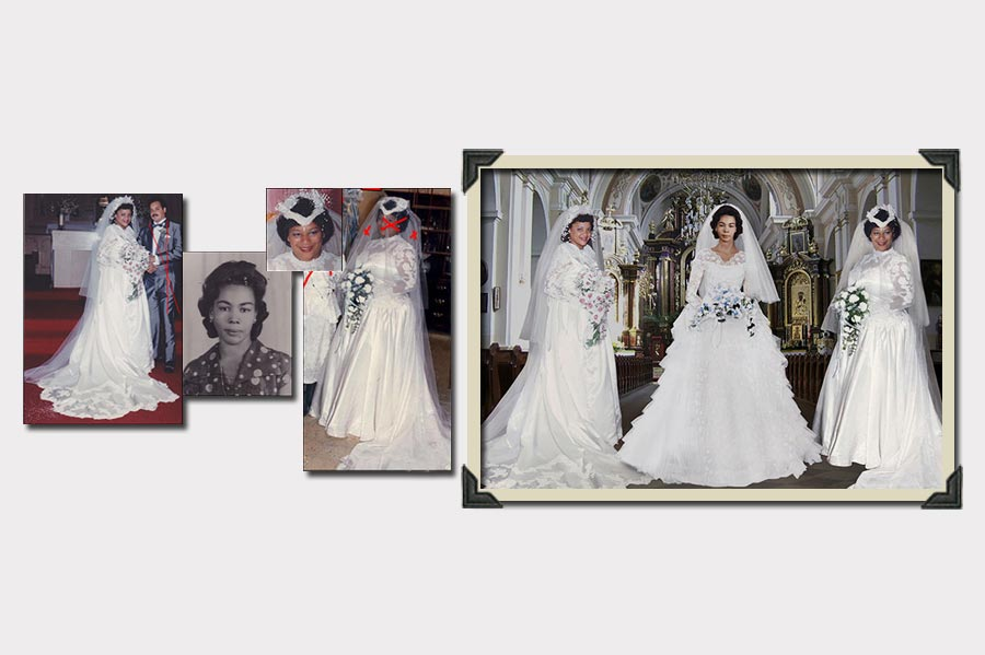 Phojoe Photo Manipulation Three Brides