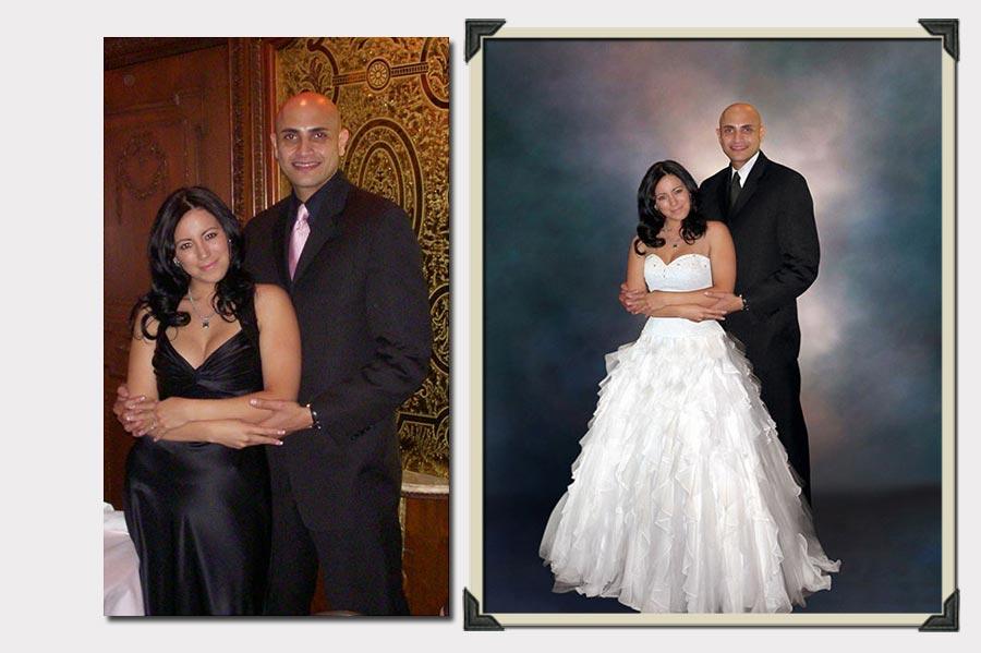 Phojoe Photo Manipulation into Wedding Scenario