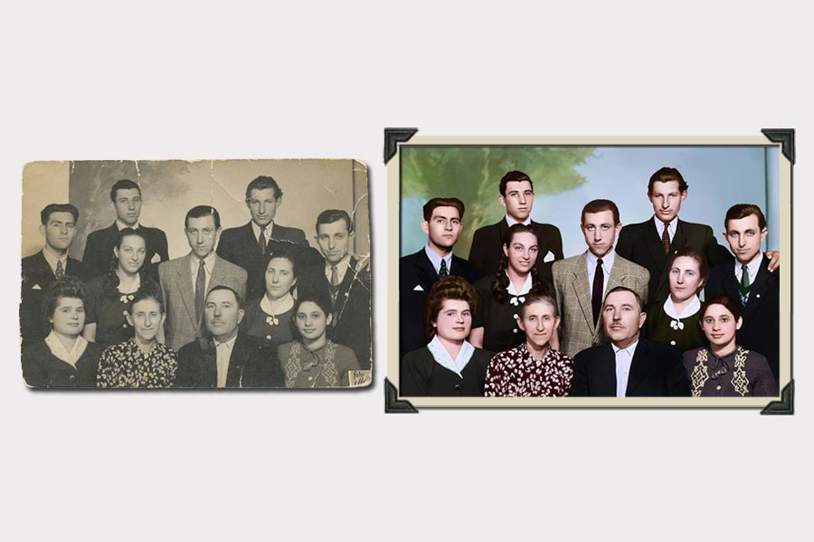 Phojoe Group of People Photo Colorization