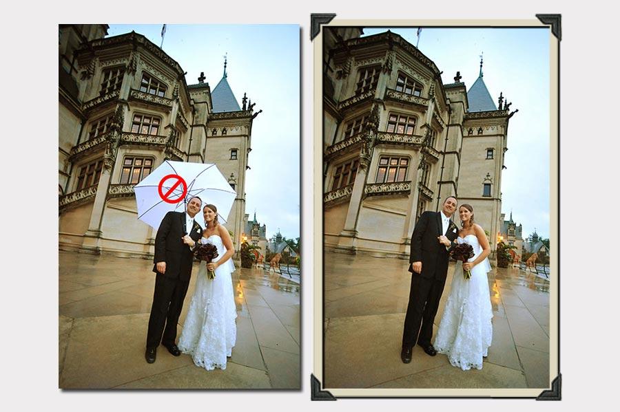 Phojoe Delete the Umbrella Photo Manipulation