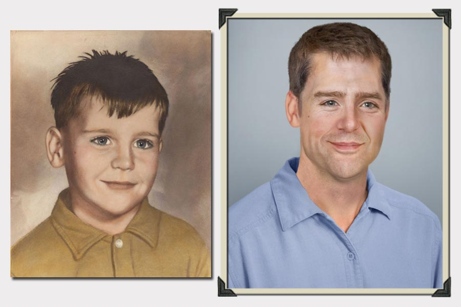 Phojoe Painting Boy Age Progression