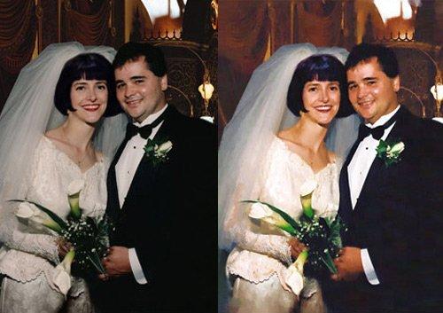 Phojoe Couple Wedding Bouquet Digital Art