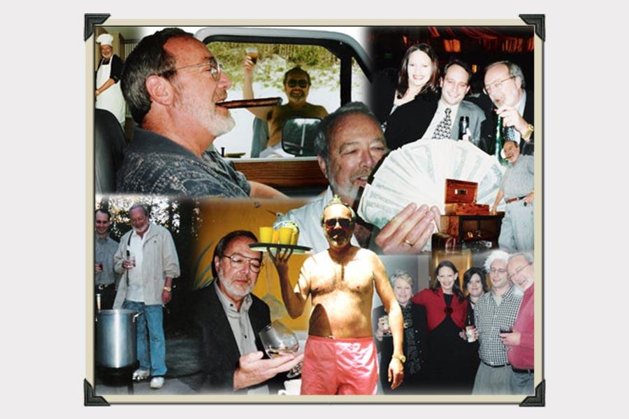 Phojoe Man at Parties Collage