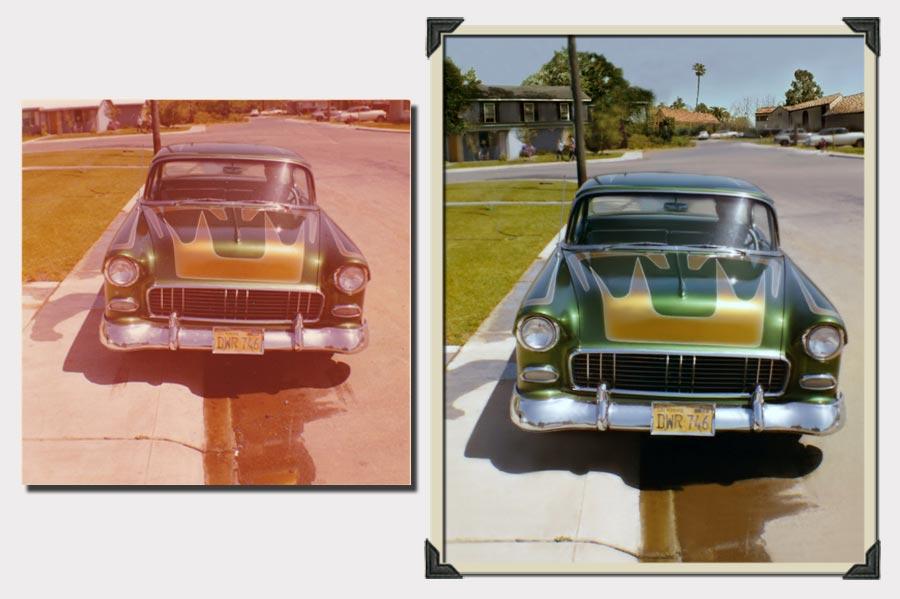 Phojoe Green Car Photo Restoration