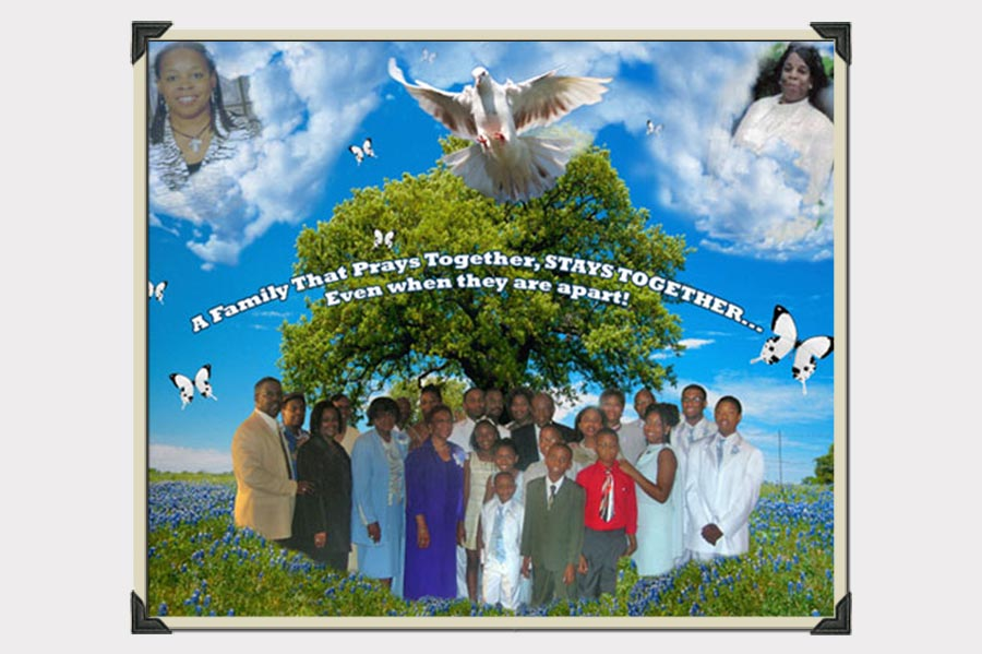 Phojoe A Family That Prays Together Collage