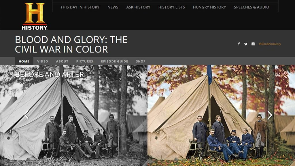 Phojoe Civil War Colorized Photos