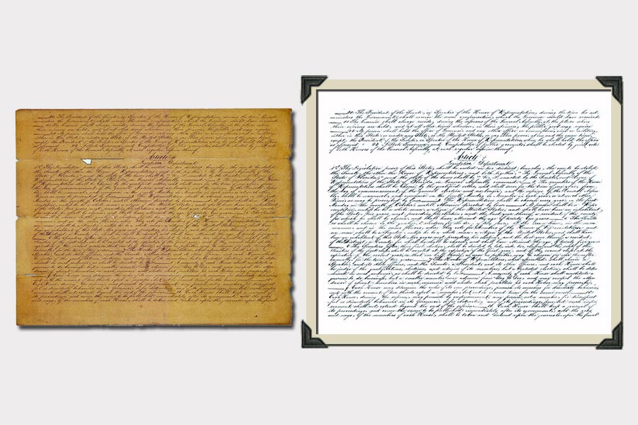 Phojoe Old Document Restoration