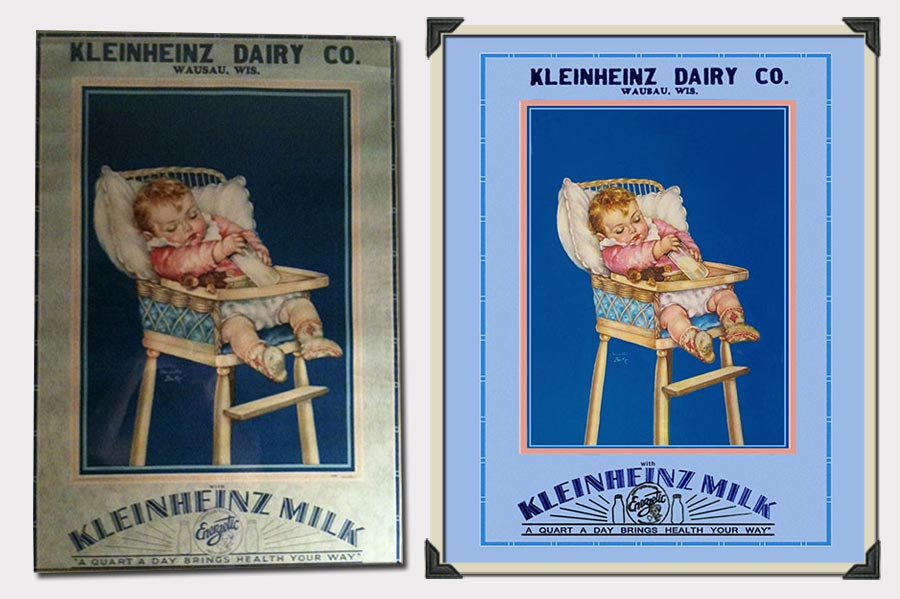 Phojoe Kleinheinz Milk Document Restoration