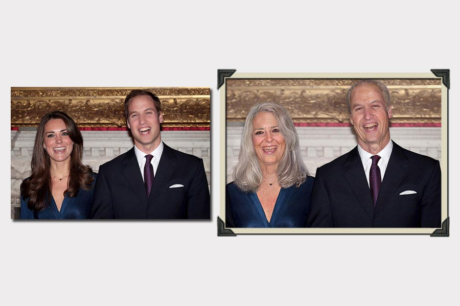 Phojoe Kate and William Age Progression
