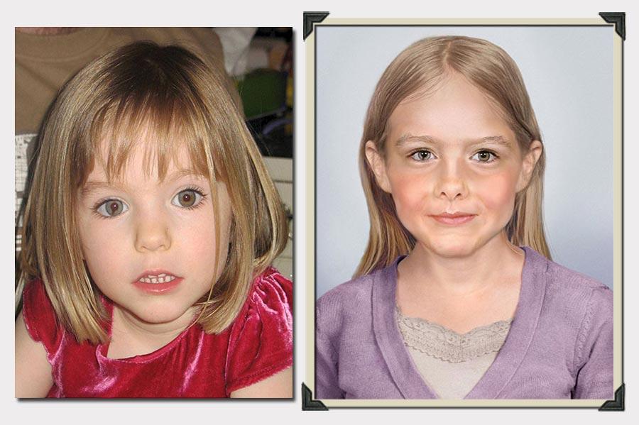 Phojoe Maddie Girl Age Progression