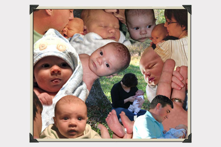 Phojoe Baby Collage