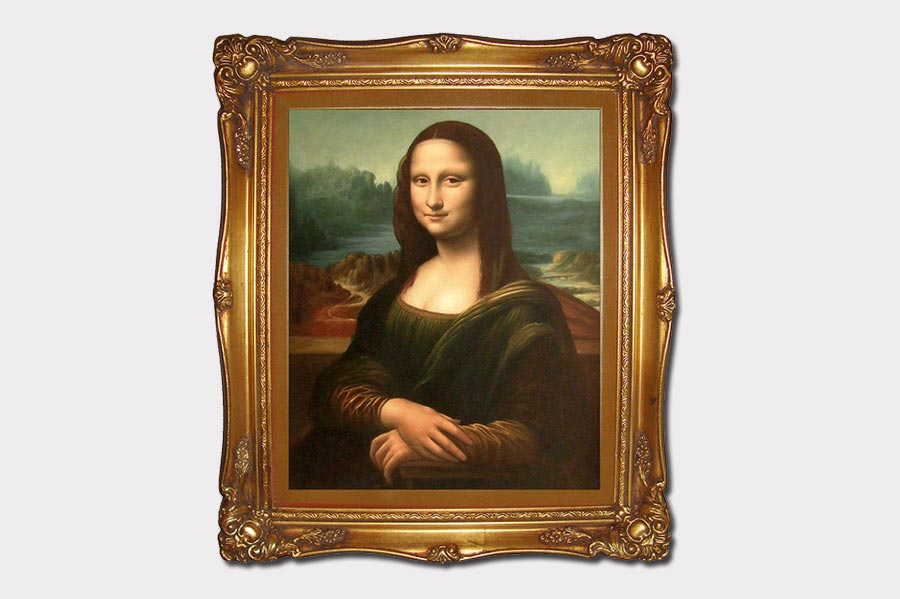 Phojoe Mona Lisa Oil Painting