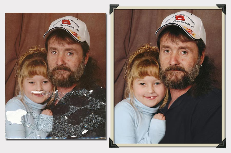 Phojoe Man and Girl Photo Restoration