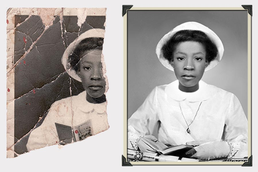 Phojoe Half Missing Photo Restoration