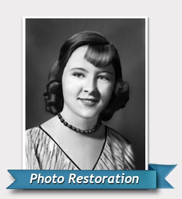 Photo restoration after