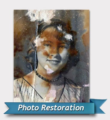 Photo restoration before