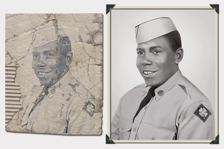 Phojoe Man in Equipment Photo Restoration