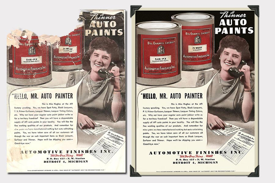 Phojoe Automotive Finishes Paint Document Restoration
