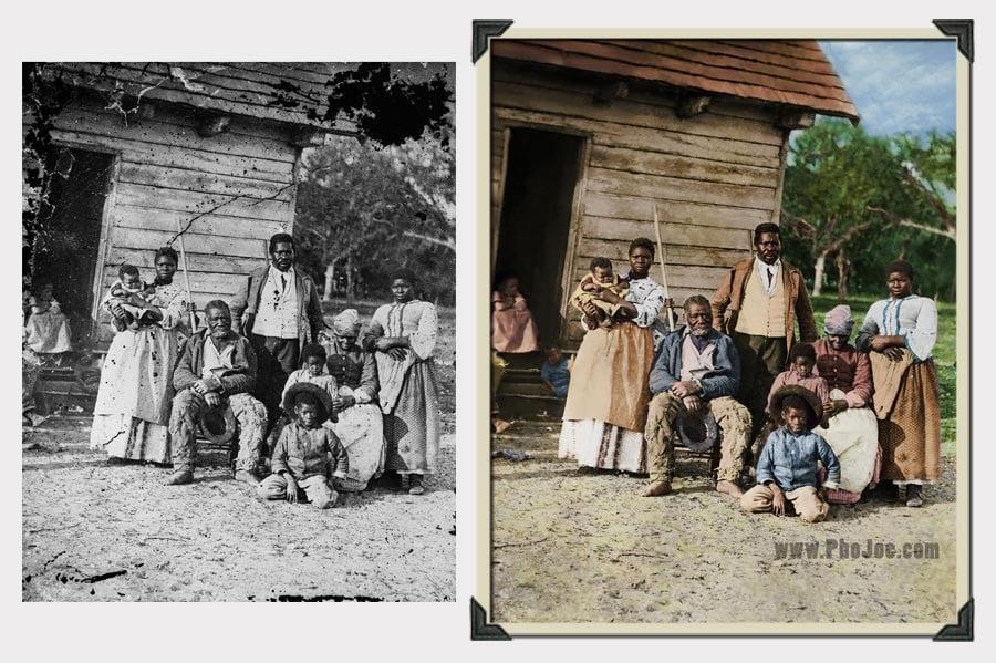 Phojoe Civil War Photo Restoration